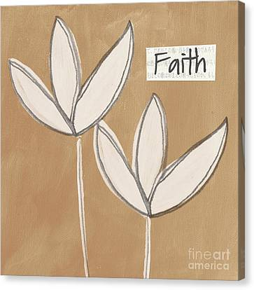 Jewish Canvas Print - Faith by Linda Woods