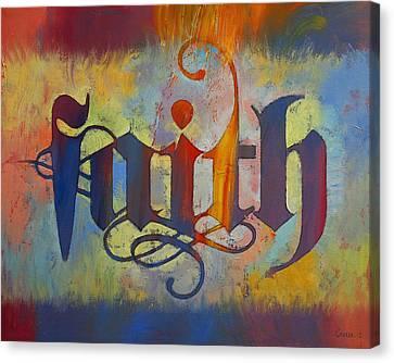 Faith Canvas Print by Michael Creese