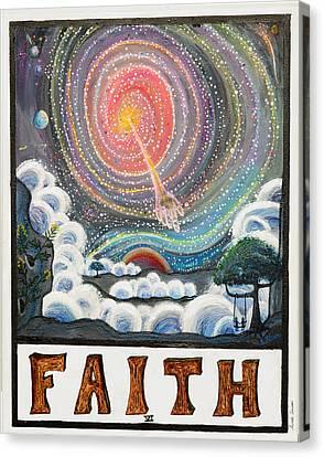Faith Canvas Print by Sarah Lindner