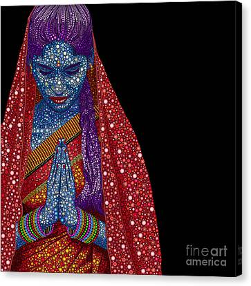 Contemplation Canvas Print - Faith by Tim Gainey