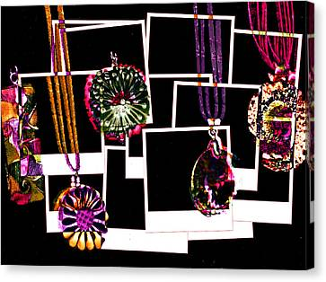 Fake Jewellery  Canvas Print by Steve Taylor