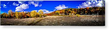 Fall All Around Canvas Print