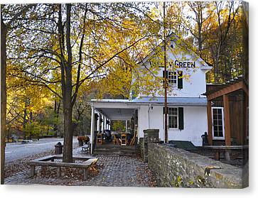 Wissahickon Canvas Print - Fall Along Forbidden Drive - Valley Green by Bill Cannon
