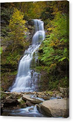 Fall At Cathedral Falls Canvas Print