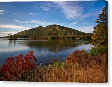 Fall At Shawnee Peak Canvas Print by Darylann Leonard Photography