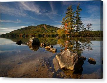 Fall At The Mountain Canvas Print by Darylann Leonard Photography
