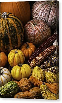 Heirlooms Canvas Print - Fall Autumn Abundance by Garry Gay