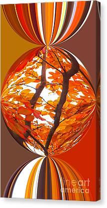 Fall Ball - Autumn Color Canvas Print by Scott Cameron