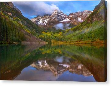 Fall Begins Canvas Print by Darren  White