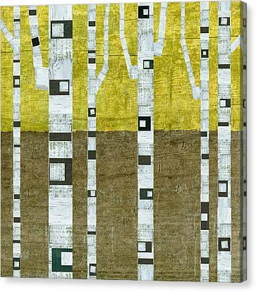 Fall Birches  Canvas Print by Michelle Calkins