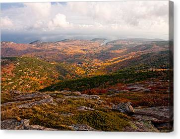 Fall Colors Of Acadia 6656 Canvas Print by Brent L Ander