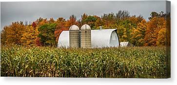 Fall Colors On A Farm Canvas Print