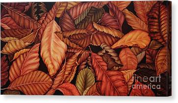 Fall Colors Canvas Print by Paula Ludovino