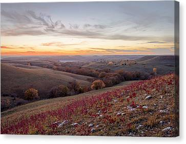 Canvas Print featuring the photograph Fall Colors by Scott Bean