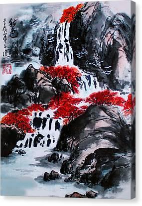 Fall Colors Canvas Print by Yufeng Wang