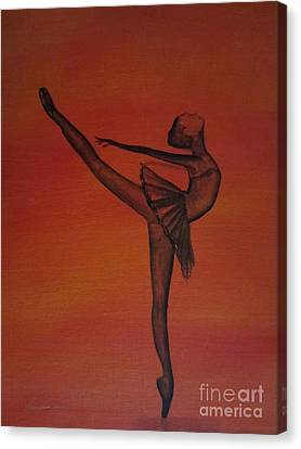Fall Dancer 1 Canvas Print by Laurianna Taylor