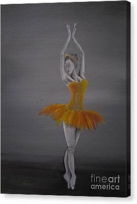 Fall Dancer 2 Canvas Print by Laurianna Taylor