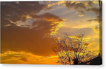 Canvas Print featuring the photograph Fall Day by Chris Tarpening