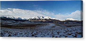 Fall Ends Panorama Canvas Print by Jeremy Rhoades