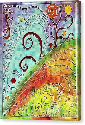 Fall Equinox Canvas Print by Shawna Rowe