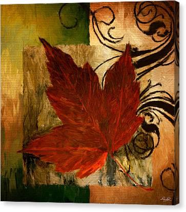 Fall Festiveness Canvas Print by Lourry Legarde