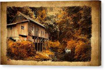 Fall Grist Canvas Print by Steve McKinzie