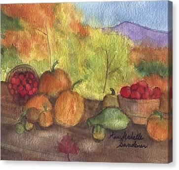 Fall Harvest Canvas Print by Ann Michelle Swadener