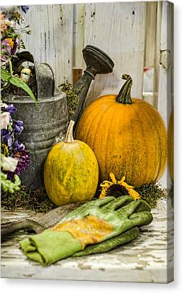 Fall Harvest Canvas Print by Heather Applegate
