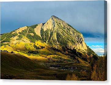 Fall In Cb Canvas Print by Mike Schmidt