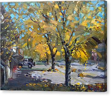 Fall In Silverado Dr  Canvas Print