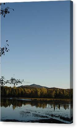 Fall In The Adirondacks Canvas Print