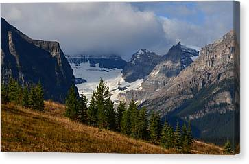 Fall In The Mountains Canvas Print by Cheryl Miller