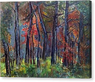 Fall Canvas Print by Iya Carson