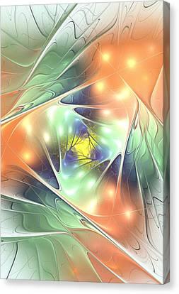 Fall Kaleidoscope Canvas Print