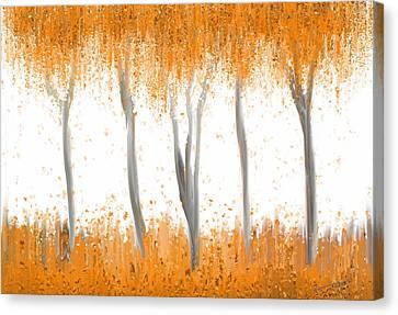 Fall Canvas Print by Kume Bryant