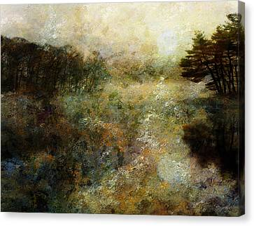 Fall Lake Canvas Print by Bruce Rolff