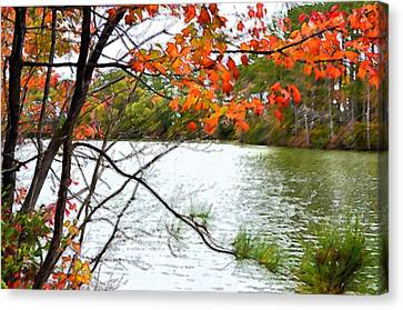 Fall Landscape 1 Canvas Print by Lanjee Chee