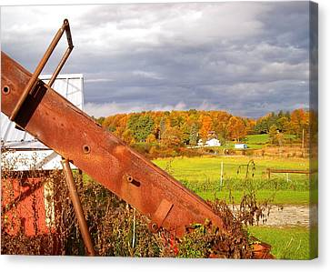 Fall On Bread And Butter Farm Canvas Print