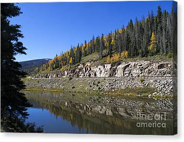 Fall On Wolf Creek Pass Canvas Print by Jerry McElroy