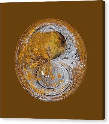 Fall Orb Canvas Print