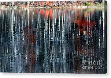Fall Reflection 1 Canvas Print by Rich Killion