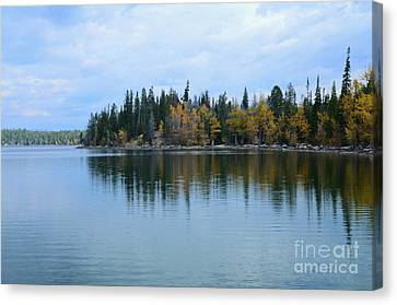 Fall Reflections Canvas Print by Kathleen Struckle