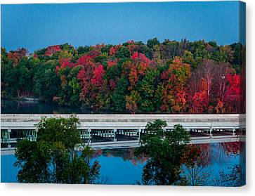 Fall Splendor Canvas Print by Gene Sherrill