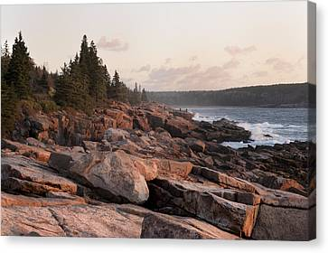 Fall Sunrise In Acadia Canvas Print