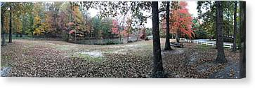 Fall Time Canvas Print by Amazing Photographs AKA Christian Wilson