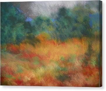 Fall Tonal Landscape Canvas Print
