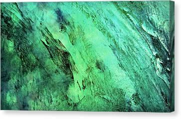 Canvas Print featuring the mixed media Fallen by Ally  White