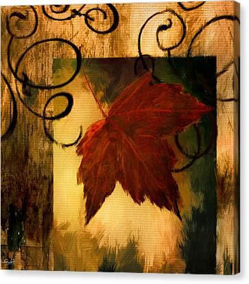 Fallen Leaf Canvas Print by Lourry Legarde