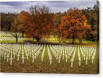 Fallen Soldiers Canvas Print by Ryan Wyckoff