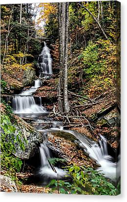 Canvas Print featuring the photograph Falling Down by David Stine